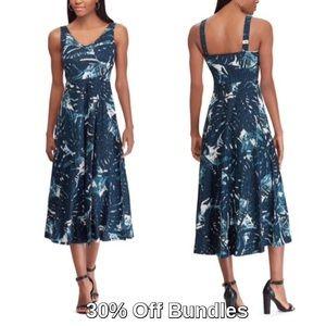 Chaps by Ralph Lauren | Fit & Flare Midi Dress